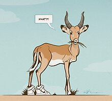 Impala wearing Sneakers by Pencilsquad