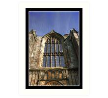 Bolton Priory West Facade Art Print