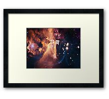 The Oncoming Storm Framed Print