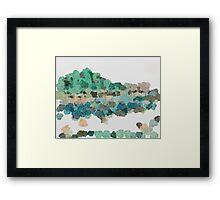 Shan Shui 01278 Framed Print