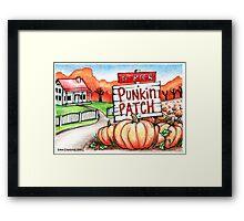 Punkin Patch... Framed Print