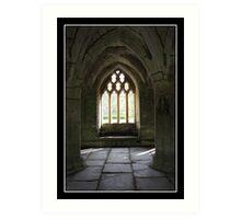 Valle Crucis Abbey - Llangollen, Wales Art Print