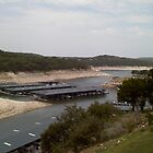 Lake Travis in Extreme Drought by Cathy Jones