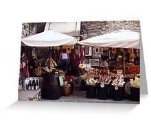 Italian Catch All Shop Greeting Card