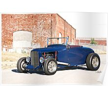1930 Ford Model A Roadster Poster