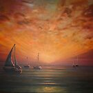 Setting with the Sun by Cherie Roe Dirksen