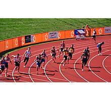 4x100m Hand Off  Photographic Print