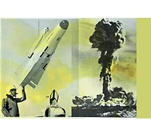 MISSILE Photographic Print