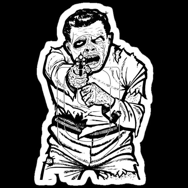 Zombie Shooting Target by Kenji Hasegawa