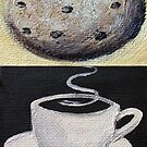 Coffee and Biscuit by eleni dreamel