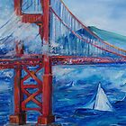 Golden Gate Bridge by schiabor