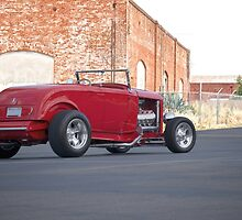 1932 Ford Roadster 3Q Rear View by DaveKoontz