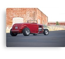 1932 Ford Roadster 3Q Rear View Canvas Print