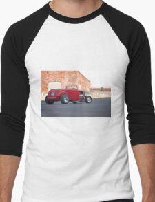 1932 Ford Roadster 3Q Rear View Men's Baseball ¾ T-Shirt
