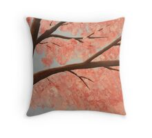 Cherry Blossoms '09-1 Throw Pillow