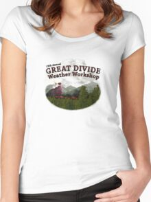 Great Divide Weather Workshop 2009 Women's Fitted Scoop T-Shirt