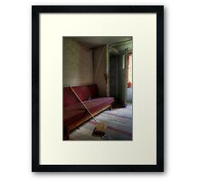 20.5.2015: Floor Washer and Sofa Framed Print