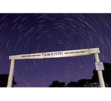Star Trails At Tawarri  Photographic Print