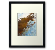 Rusty Sky II Framed Print
