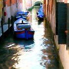 Venice Boats by Dennis Granzow