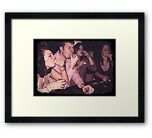 Retro Bar Framed Print