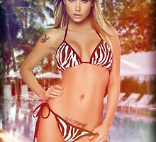 Girl ocean bikini summer sexy hot fresh blond swag eyes dope trend trending by Dopealicious