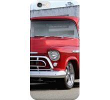 1957 Chevrolet Custom Stepside Pickup iPhone Case/Skin