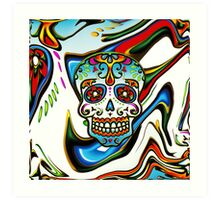Mexican Sugar Skull, Day of the Dead, Dias de los muertos Art Print