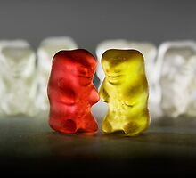 Gummy Bear Photography - Lucky Enough To Fing Each Other by michalfanta
