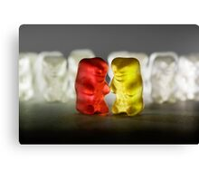 Gummy Bear Photography - Lucky Enough To Fing Each Other Canvas Print