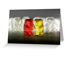 Gummy Bear Photography - Lucky Enough To Fing Each Other Greeting Card