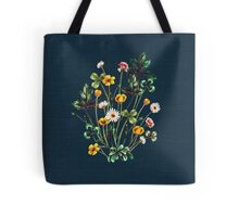 MeadowSweet Autumn on Rustic Blue Tote Bag
