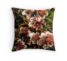 Growing Small ... Whispering Loud Throw Pillow