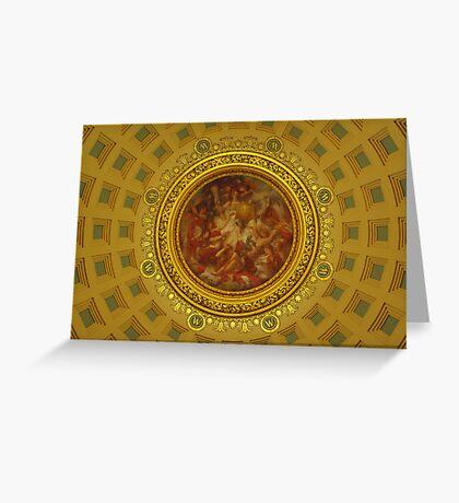 Capital Dome Greeting Card