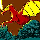 Red Dragon by Rustyoldtown