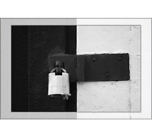 Racism - Keep it Locked Down Photographic Print
