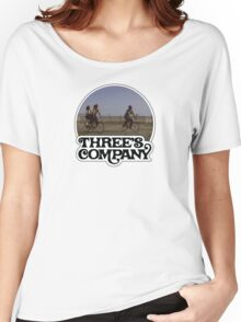 Three's Company  Women's Relaxed Fit T-Shirt