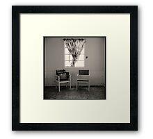 tv set • amboy, ca • 2009 Framed Print