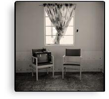 tv set • amboy, ca • 2009 Canvas Print