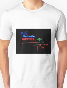 Blue Swallow Motel Neon Sign, Tucumcari, New Mexico Unisex T-Shirt
