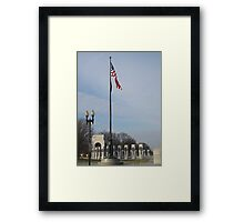 World War II Memorial - Washington D.C. Framed Print