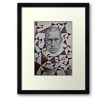 Poet of Futurism Framed Print