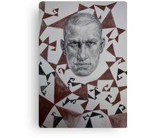 Poet of Futurism Canvas Print