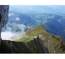 View from Mt. Pilatus, Switzerland Photographic Print