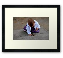 Number Thy Days Framed Print