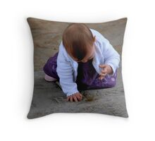 Number Thy Days Throw Pillow