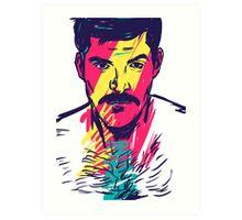 Mustache  Art Print