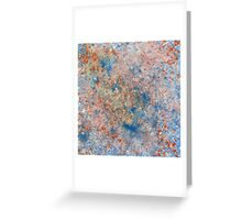 Fractured July Greeting Card