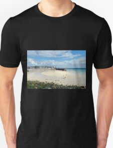 The Harbour at Low Tide, St Ives, Cornwall T-Shirt