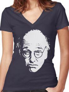 LD Women's Fitted V-Neck T-Shirt
